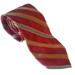 ALTEA MILANO 100% silk striped tie